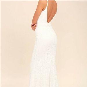 Lulus White Dress